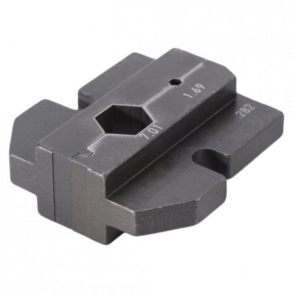 Crimpeinsatz für Einsatz für BNC1.2 / 5.0HD3G-T, schwarz
