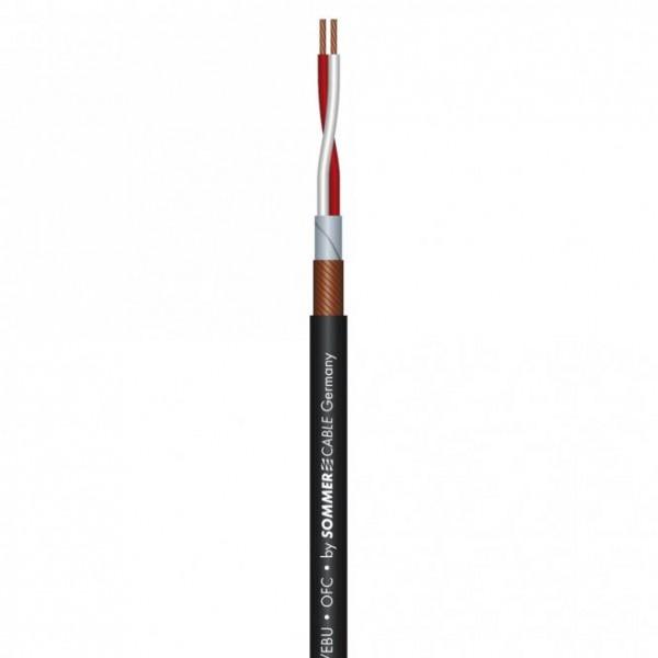 Sommer Cabel SC-SEMICOLON 2 AES/EBU PATCH Digitalkabel schwarz